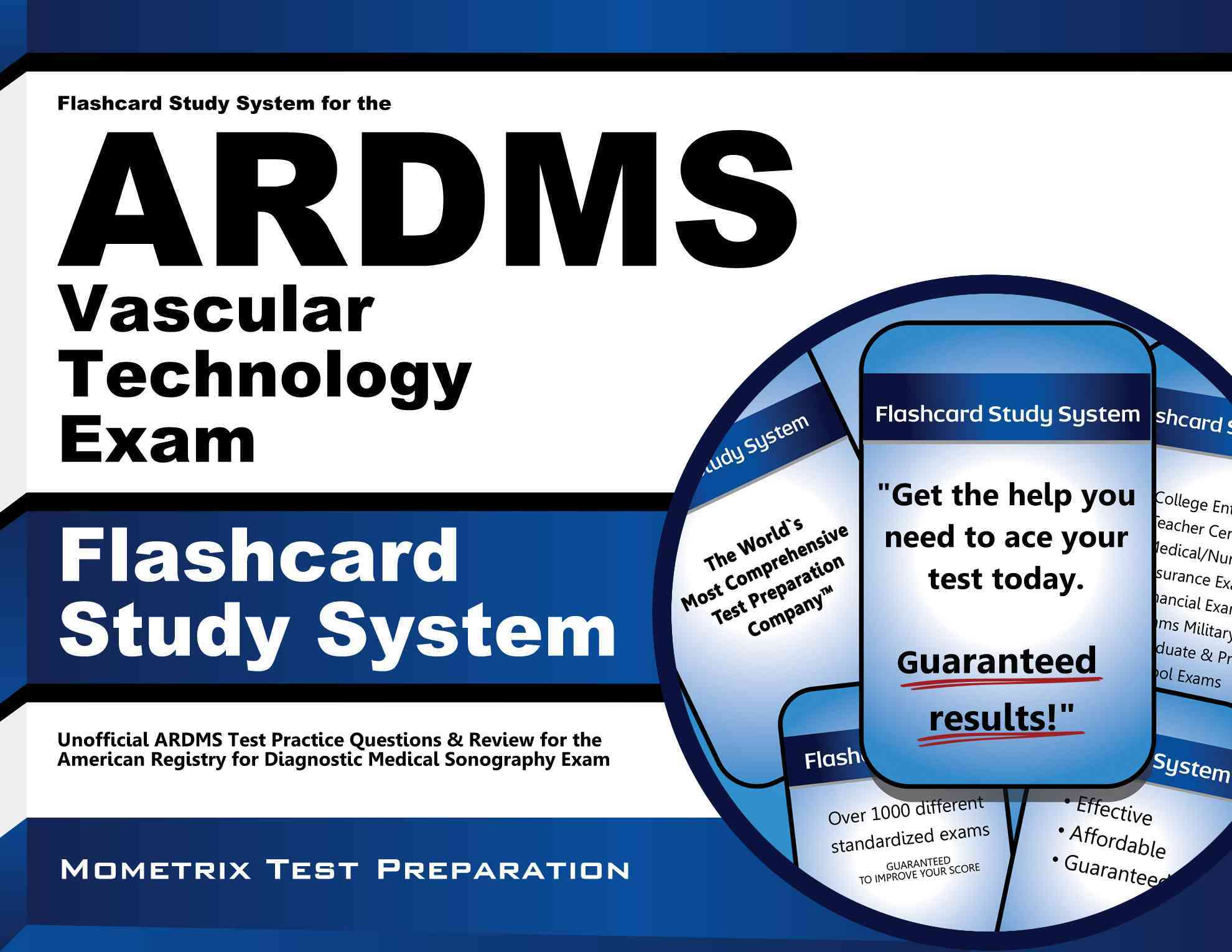 Flashcard Study System for the Ardms Vascular Technology Exam By Ardms Exam Secrets (EDT)